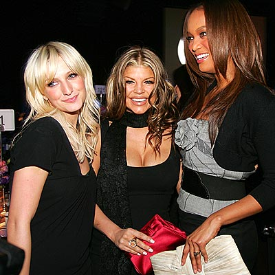 GLAM SQUAD photo | Ashlee Simpson, Fergie, Tyra Banks