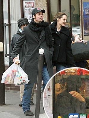 SHOP & STOP photo | Angelina Jolie, Brad Pitt