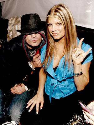 PEAS & LOVE photo | Fergie, Tommy Lee