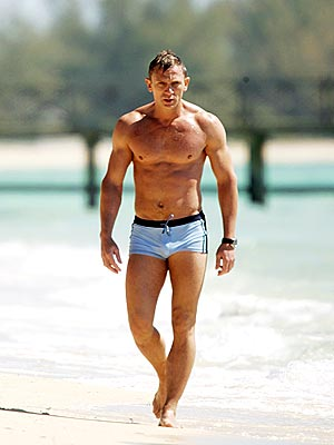 BRONZED BOND photo | Daniel Craig