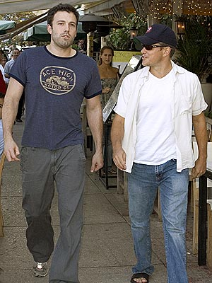 'HUNTING' BUDDIES photo | Ben Affleck, Matt Damon