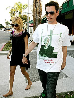 KEEPING IN TOUCH photo | Adam Goldstein, Nicole Richie