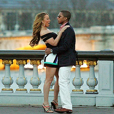 FRENCH CONNECTION photo | Mariah Carey, Pharrell Williams