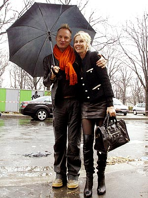 RAIN DATE photo | Sting, Trudie Styler