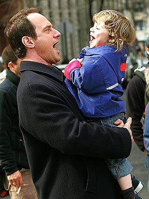MOUTHING OFF photo | Christopher Meloni