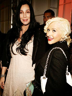 TWO TONE photo | Cher, Christina Aguilera