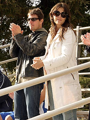 GOOD SPORTS photo | Katie Holmes, Tom Cruise