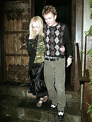 TEST PATTERN photo | Avril Lavigne, Derick Whibley