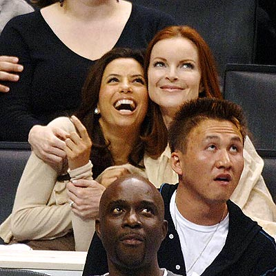 SPURS OF THE MOMENT photo | Eva Longoria, Marcia Cross