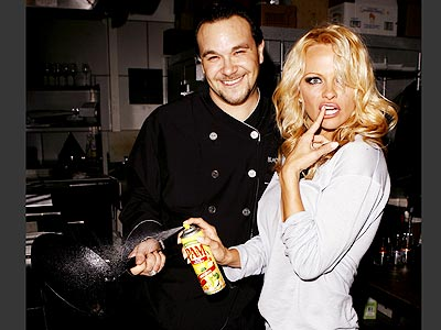 STICKY FINGERS photo | Pamela Anderson