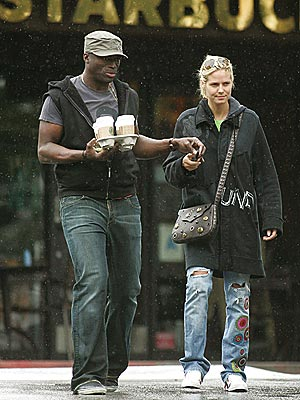 APRIL SHOWERS photo | Heidi Klum, Seal