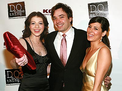 JIMMY'S ANGELS photo | Jamie-Lynn Sigler, Jimmy Fallon, Michelle Trachtenberg