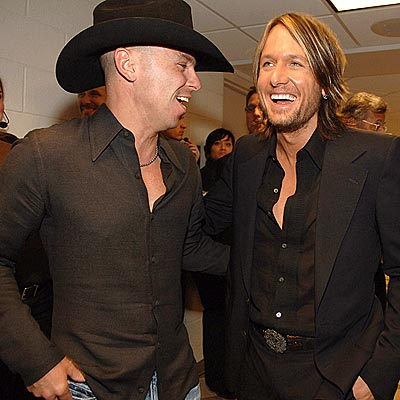 WINNERS' CIRCLE photo | Keith Urban, Kenny Chesney