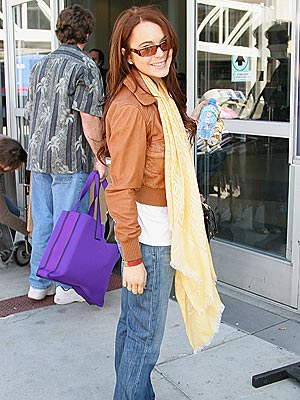 FREQUENT FLIER photo | Lindsay Lohan