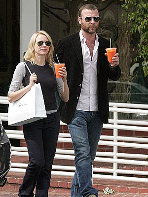 JUICY SIGHTING photo | Liev Schreiber, Naomi Watts