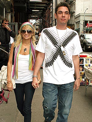 HAND IN HAND photo | Adam Goldstein, Nicole Richie