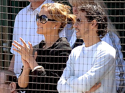 PLAY BALL! photo | Jennifer Lopez, Marc Anthony