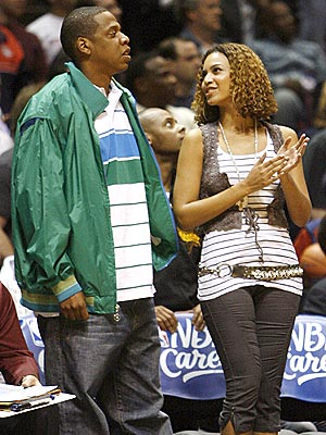 B-BALL photo | Beyonce Knowles, Jay-Z