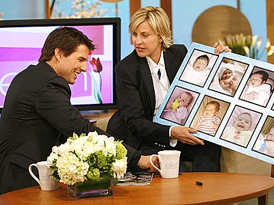 CHILD'S PLAY photo | Ellen DeGeneres, Tom Cruise