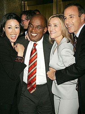 TEAMING UP photo | Al Roker, Ann Curry, Matt Lauer, Meredith Vieira