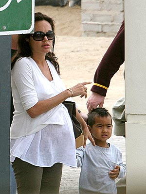 STORK WATCH photo | Angelina Jolie