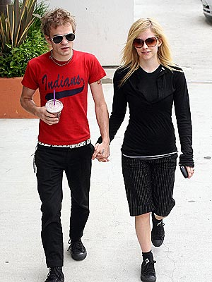 ROCK STEADY photo | Avril Lavigne, Derick Whibley