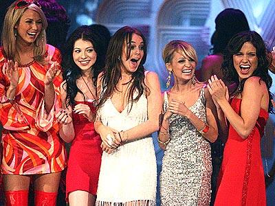 FRIDAY NIGHT FEVER photo | Lindsay Lohan, Michelle Trachtenberg, Nicole Richie, Sophia Bush, Stacy Keibler