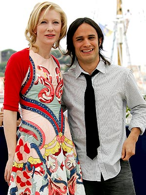 CANNES DO photo | Cate Blanchett, Gael Garc\u00EDa Bernal