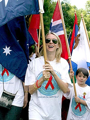 FLAG BEARER photo | Naomi Watts