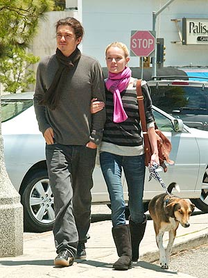 PUPPY LOVE photo | Kate Bosworth, Orlando Bloom