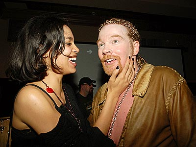 BIRTHDAY BASHING photo | Axl Rose, Rosario Dawson