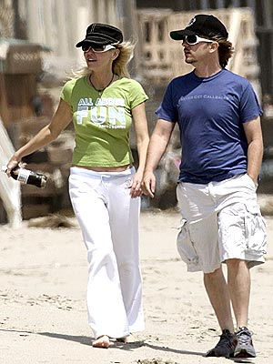 JUST BEACHY photo | David Spade, Heather Locklear