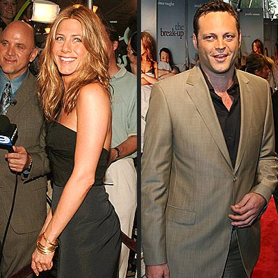 STEPPING OUT photo | Jennifer Aniston, Vince Vaughn