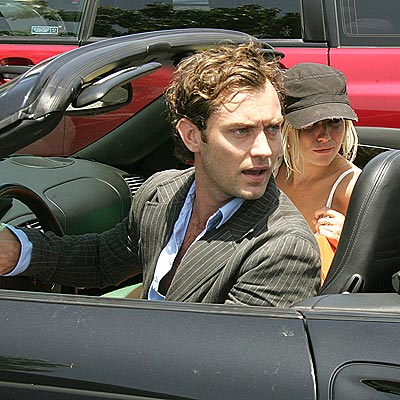 REVVING UP photo | Jude Law, Sienna Miller