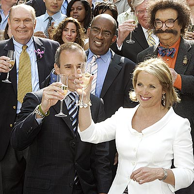 A FOND FAREWELL photo | Katie Couric, Matt Lauer