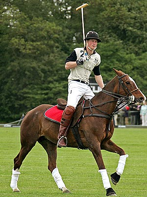 HORSING AROUND photo | Prince Harry