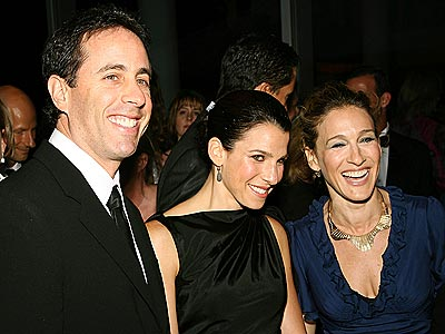ART APPRECIATION photo | Jerry Seinfeld, Sarah Jessica Parker