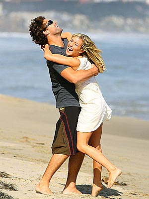 FEELING BEACHY photo | Brody Jenner, Kristin Cavallari