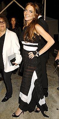 BLACK & WHITE photo | Lindsay Lohan