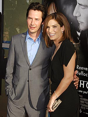 SPEEDY REUNION photo | Keanu Reeves, Sandra Bullock