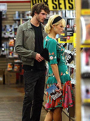 SHOPPING AROUND photo | Paris Hilton, Stavros Kazantzidis