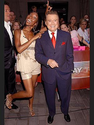&#39;TALENT&#39; SCOUTS photo | Brandy, Regis Philbin