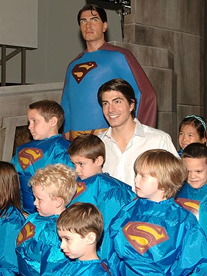 BOYS (AND GIRLS) IN BLUE photo | Brandon Routh