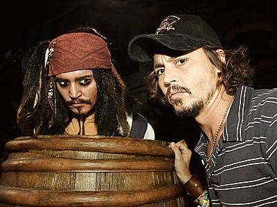 CAPTAIN JACKS photo | Johnny Depp