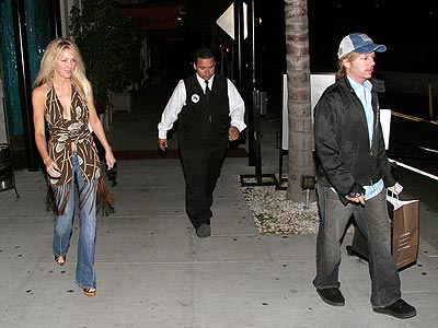 THE TWO STEP photo | David Spade, Heather Locklear