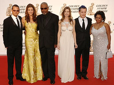 STRONG MEDICINE photo | Chandra Wilson, Ellen Pompeo, James Pickens Jr., Justin Chambers, Kate Walsh, T.R. Knight