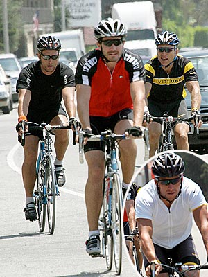 LEADER OF THE PACK photo | Jake Gyllenhaal, Lance Armstrong, Matthew McConaughey