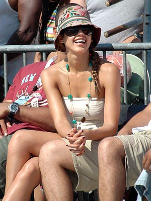 ALL-STAR FAN photo | Jessica Alba