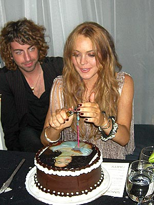 Birthday Of Lindsay Lohan 1
