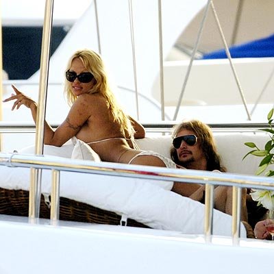 ALL ABOARD? photo | Kid Rock, Pamela Anderson